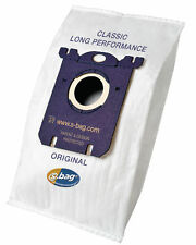 Genuine Electrolux E201B E201 Vacuum Hoover Cloth Dust Bags S Type - 4 Pack
