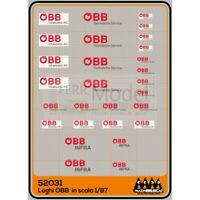 M52031 - Max Model OBB Loghi OBB scala H0