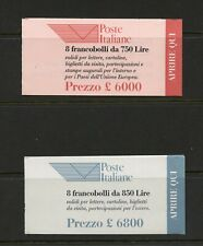 E740 Italy 1995 Postal Emblem COMPLETE UNEXPLODED BOOKLETS MNH