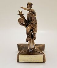 Female Superstar Basketball Trophy! Free Engraving! Ships In 1 Business Day!