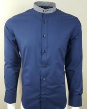 Men's Formal Shirts Grandad Collar Singlepack