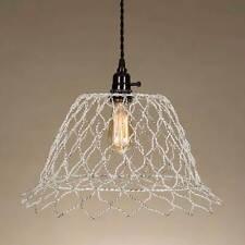 Pollyama New Hanging Plug in light in Distressed Tin