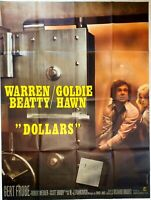 Plakat Kino Dollars Warren Beatty Goldie Hawn - 120 X 160 CM