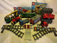 Lego System 7898 Eisenbahn Grosses Güterzug Set