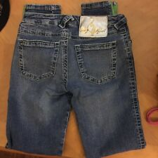 WOMENS BABY PHAT STRAIGHT LEG JEANS..SIZE 3