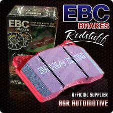 EBC REDSTUFF FRONT PADS DP3108C FOR LOTUS ECLAT 2.2 (ALLOY WHEELS) 80-85