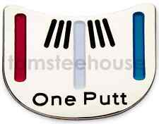 "2 x  "" One Putt "" GOLF BALL MARKER - Putting Alignment Tool"