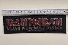 Iron Maiden  - Brave New World 2000 Aufnäher / Patch (Heavy Metal Sammlung)