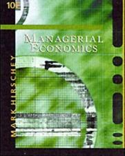 Managerial Economics with InfoTrac College Edition by Mark Hirschey (2002,...
