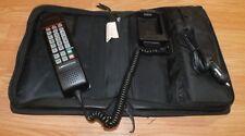 *Untested* Vintage Motorola Gold Series BellSouth Travel Bag Car Phone **READ**