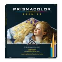 Prismacolor Verithin Colored Pencil - Assorted Lead - Assorted Barrel - 24 / Set