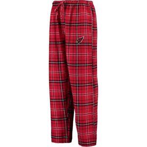 New Mens Arizona Cardinals Sleep Lounge Pants Size Small NFL Knit Flannel