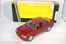 SCHABAK 1527 FORD ORION METALLIC MAROON VERY NEAR MINT BOXED