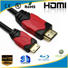 NEW HD HDMI to Mini HDMI Cable Gold Type A to Type C 10FT / 3M