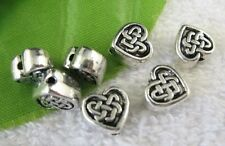 12pcs tibetan silver tone Cylindrical spacer beads h3905