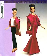 "Reduced!!  McCall's 4127 OOP 15½"" Fashion Doll EVENING ATTIRE PACKAGE Pattern"
