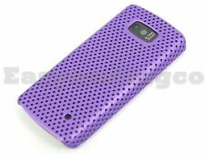 Mesh Hard Back Cover Case for Nokia 700 Purple