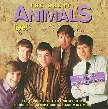 THE ANIMALS - THE GREAT ANIMALS LIVE NEW CD