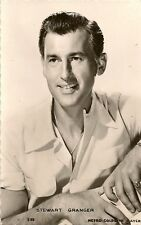CARTE POSTALE PHOTO CELEBRITE ACTEUR STEWART GRANGER