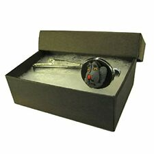 Handmade Sooty & Sweep Inspired Silver Plated Tie Pin Slide - Boxed Mens Gift *