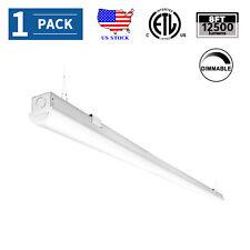 8Ft Led Shop Light Fixture 110W Led Warehouse Strip Light Linkable 5000K 12500lm