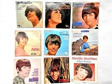 MIREILLE MATHIEU - lot 31 disques 45t