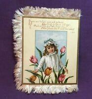 *Vintage Victorian Valentine Card Valentines Day Card
