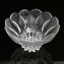 MEDEA Schale Glasschale Lausitzer Glas ∅21cm 1,5kg 80s GDR Design crystal glass