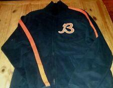 Chicago Bears B Retro Logo Traditions Retro Distressed Track Jacket HALAS! RARE!