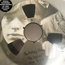"THE ROLLING STONES THE SESSIONS VOL 2 10"" LP LTD EDT CLEAR NUMBERED VINYL"