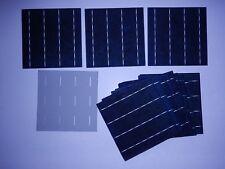 40 Multi-crystalline Solar Cells 15-17 % eff  4BB (buss bars) 3.9 watts( # 186)