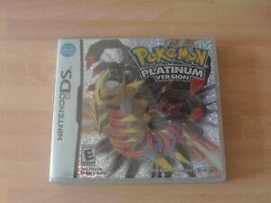 pokemon platinum version  ds  New&sealed   *** NO tearstrip***