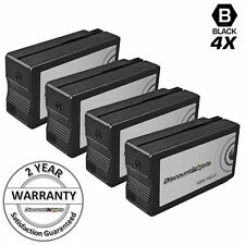 4PK Reman Black Cartridge for HP Ink 950XL 950 XL Printer OfficeJet Pro 8600 276