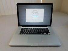"""Macbook Pro 15"""" A1286 Early 2009 Core 2 Duo T9550 2.66GHz 500GB 4GB Lion"""
