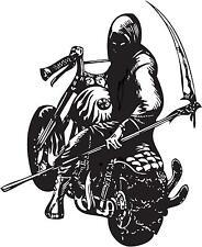 sticker Monster bikers skull DEMON chopper harley Autocollant Vinyle DIABLE