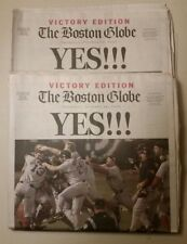 (2 ct) Boston Red Sox World Champions.Oct. 28, 2004.Boston Globe + Time, Si