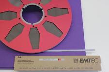 Per528 EMTEC Tape NOS incl. 30 cm BOBINA F. Studer a80, m15a-Nuovo-lj3-6 -