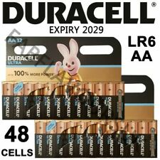48x Duracell ULTRA POWER AA MN1500 LR6 Alkaline Batteries with POWERCHECK!