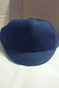 Baseball/Softball umpire snap back plate hat NEW by V Sport  Navy Blue