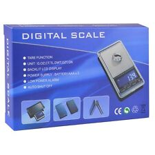 DS-16 1000g x 0.1g Pocket Digital Scale w/Travel Pouch- Extensive Weighing Modes