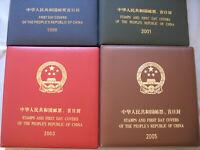 s2118) VR China 1998 + 2001 FDC + Ganzsachen / 2003 + 2005 postfrisch MNH + FDC