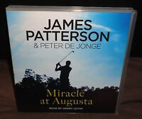 James Patterson - Miracle At Augusta (CD AUDIO BOOK, 2015) 4 Discs