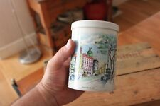 Vintage Worcester Ware Storage Tin / Canister – London Scenes – Leicester Square