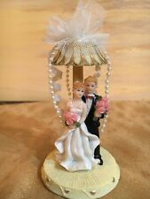K's Collection Wedding Series Bride and Groom Cake Topper