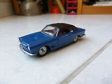 Fiat 2300 S Cabriolet Ghia Ref 133 3/64 Solido 1/43 jouet miniature ancien