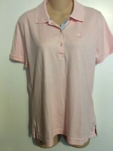 NWT LIZ CLAIBORNE CAREFREE GOLF/SPORTS POLO SHIRT/TOP-PINK-S