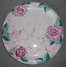 Wächtersbach Lifestyle 2x Teller Rosen Marmor 90s Keramik Kuchenteller Geschirr