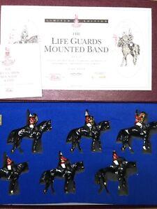 Britains:  Boxed Set 5295 Set 2 - Life Guards Mounted Band.