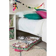 AVON Cactus Print Under Bed Shoe Storage holds 6 pairs New in Pack (Q)