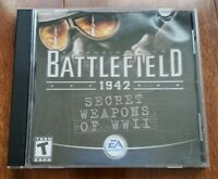 Battlefield 1942: Secret Weapons of WWII [Expansion Pack] - CIB (PC CD, 2004)